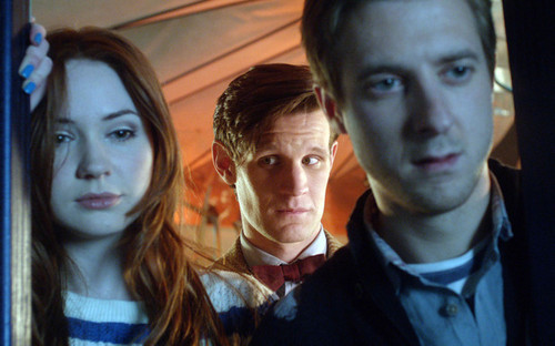 Rory, Amy, The Doctor and River các bức ảnh