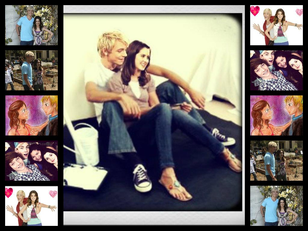 Ross Lynch and Laura Marano