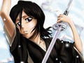 Rukia - bleach-anime wallpaper