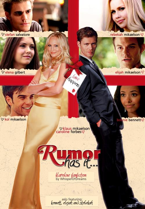 Rumor has it    - Klaus & Caroline Fan Art (33565358) - Fanpop