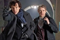 SHERLOCK SERIES 3 SET PHOTO - sherlock-on-bbc-one photo