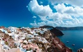 europe - Santorini Greece wallpaper