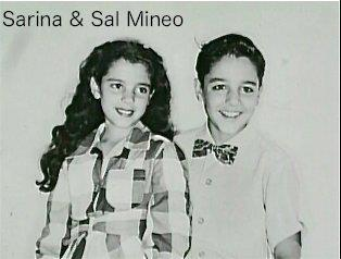 Sal Mineo wallpaper entitled Sarina & Sal Mineo