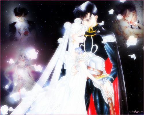 Serena and Darien images Neo-Queen Serenity and King Endymion HD ...