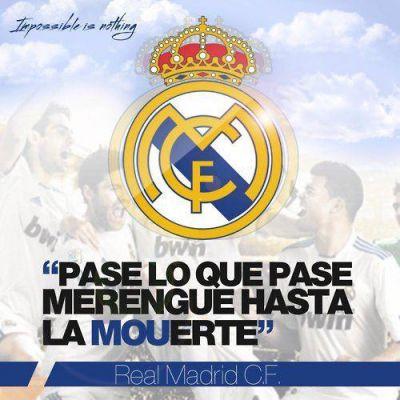Siempre fieles Hala Madrid