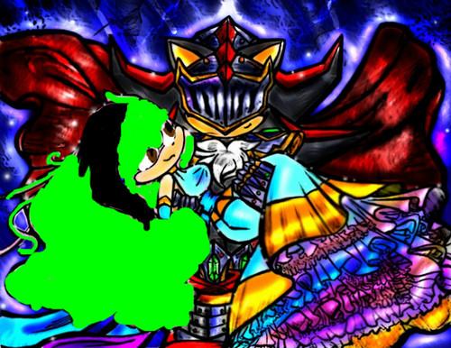 Sir Lancelot saves the Princess