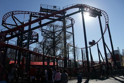 Six Flags Over Texas Tony Hawk's Big Spin