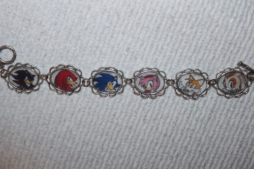 Sonic The Hedgehog bracelet