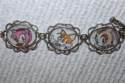 Sonic The Hedgehog bracelet