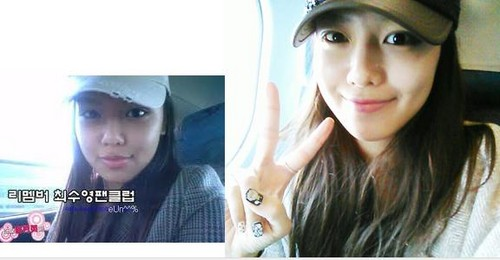 Sooyoung pre debut and now
