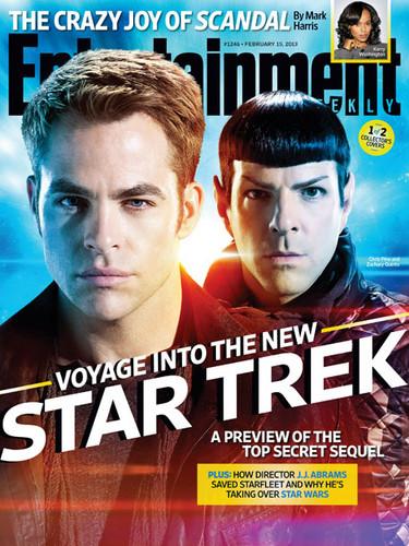 star, sterne Trek Into Darkness | Entertainment Weekly