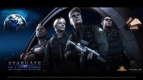 Stargate SG-1 Unleashed پیپر وال