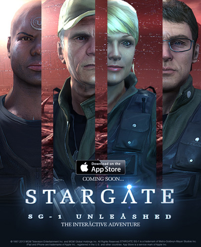 Stargate SG-1 Unleashed comming soon
