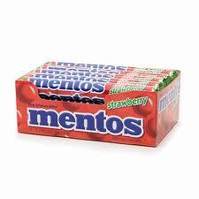 fresa Mentos