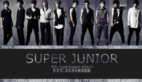 Super Junior Обои called Super Junior