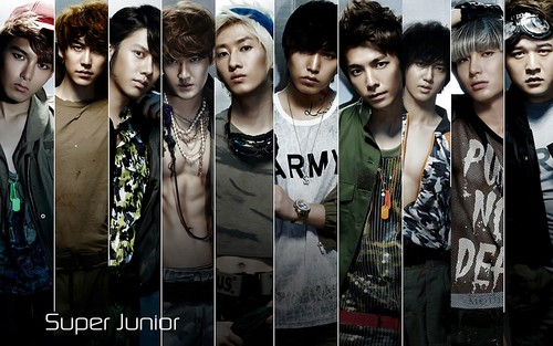 super junior fondo de pantalla titled Super Junior