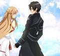 Sword Art Online ~ Kirito x Asuna - kirito-x-asuna fan art
