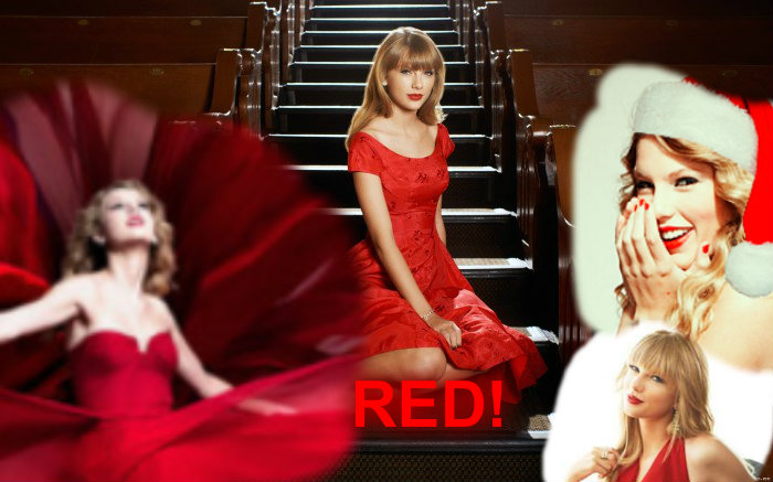 TAYLOR snel, swift RED!