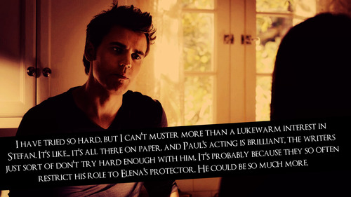 TVD confessions <3