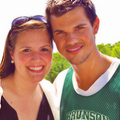 Taylor on Grown Ups 2 set  - taylor-lautner fan art
