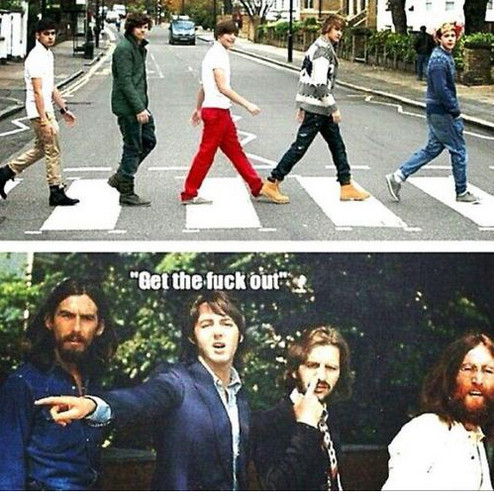 The Beatles & One Direction