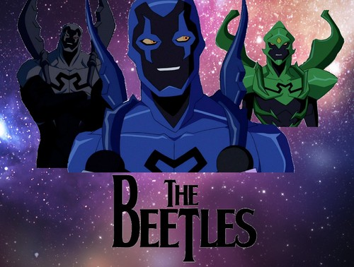 Young Justice wallpaper containing anime entitled The Beetles