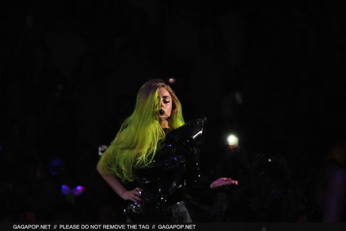 The Born This Way Ball Tour in Toronto (Feb. 8)