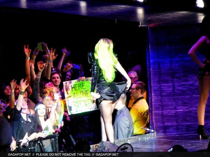 The Born This Way Ball Tour in Toronto (Feb. 9)