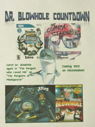 The Dr Blowhole Countdown