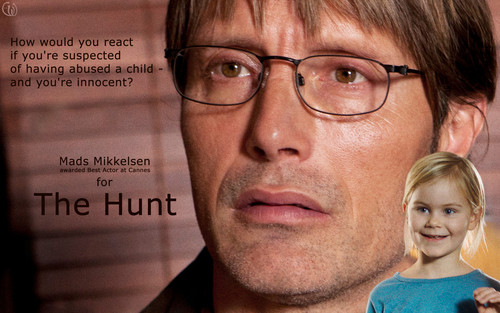 Мадс Миккельсен Обои with a portrait called The Hunt - Mads Mikkelsen