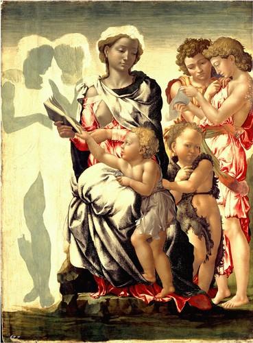 The Manchester Madonna Von Michelangelo, 1497