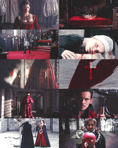 The Tudors + Red