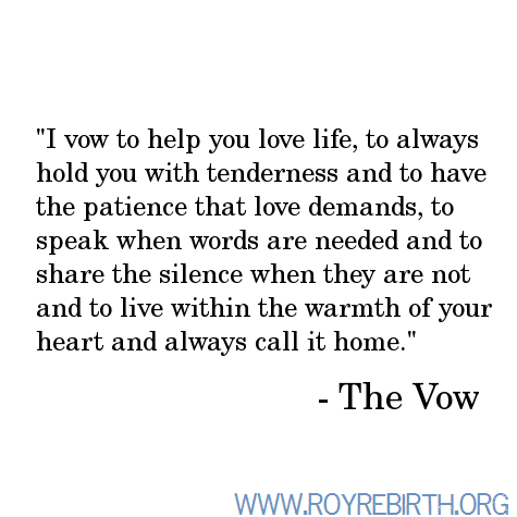 The Vow ♥