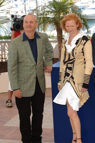 Tilda Swinton & Bill Murry at Cannes