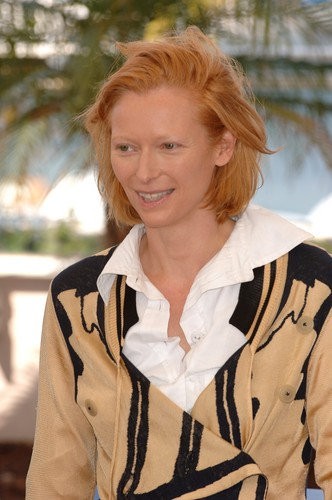 Tilda Swinton at Cannes