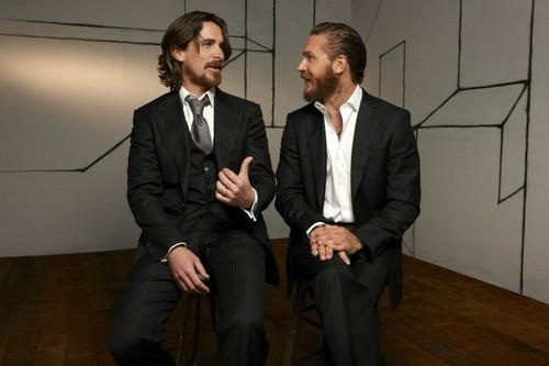 Tom Hardy - Christian Bale фото Shoot