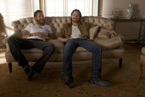 Tom Hardy - Christian Bale foto Shoot