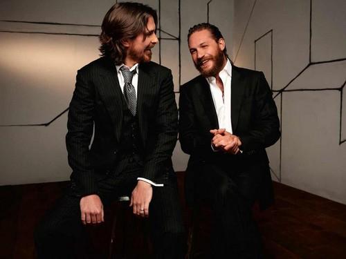 Tom Hardy - Christian Bale picha Shoot
