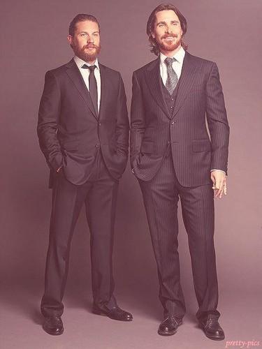Tom Hardy - Christian Bale 写真 Shoot