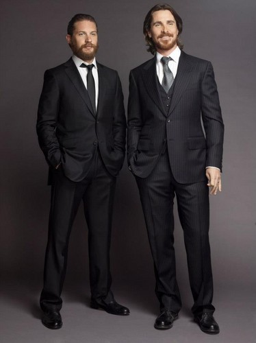 Tom Hardy - Christian Bale Foto Shoot