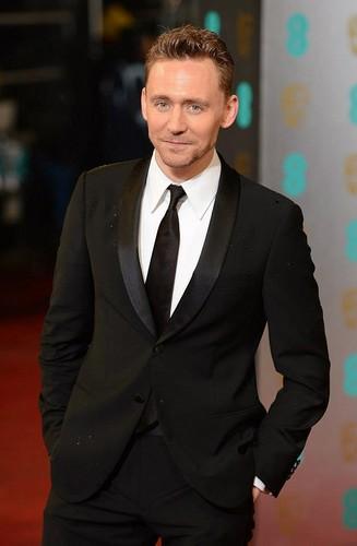 Tom Hiddleston at the 2013 EE BAFTA Awards