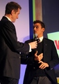 Tom attends the AVIVA & Daily Telegraph School Sport Matters Awards [14/11/12]