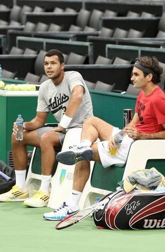 Tsonga & Federer