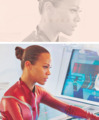 Uhura - Star Trek into Darkness - zoe-saldana-as-uhura fan art