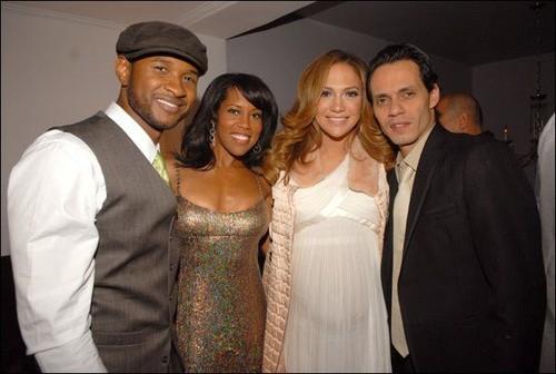Usher & Jennifer Lopez - 2007