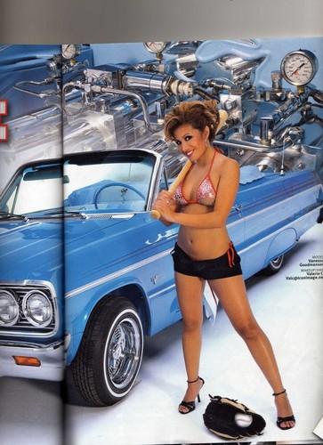 Vanessa Lowrider Magazine