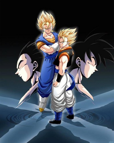 Vegeth and Gogeta