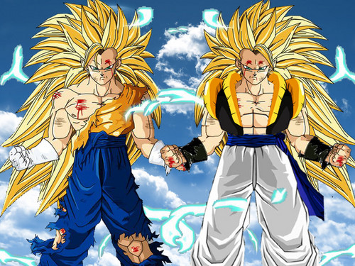 Vegeth and Gogeta ssj3