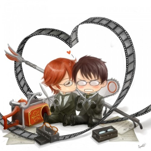 black butler wallpaper probably with a vacuum entitled William & Grell