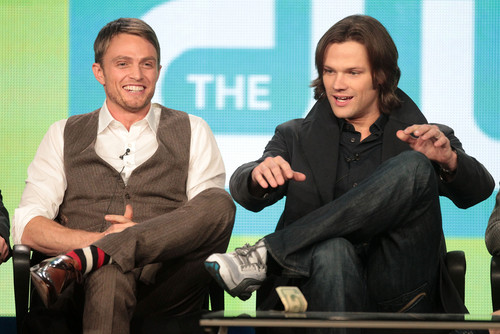 jared padalecki wallpaper containing a business suit and a well dressed person titled Wilson Bethel and Jared Padalecki